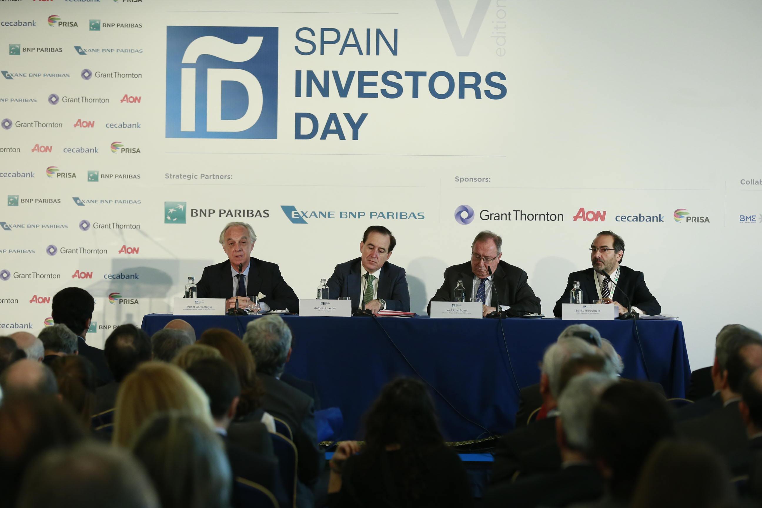 Inauguración V edición Spain Investors Day