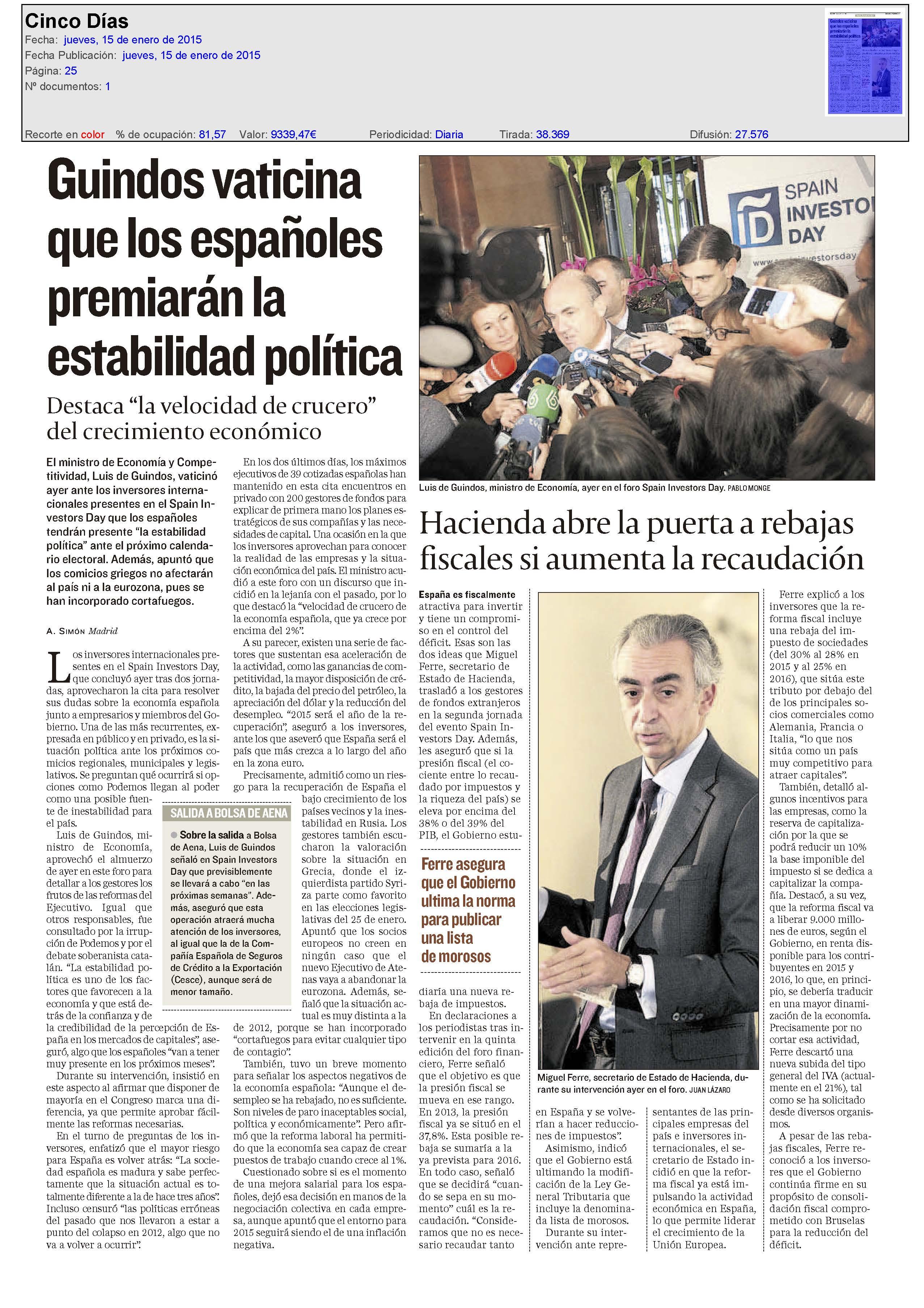 NoticiasenPrensa-CincoDias-150115