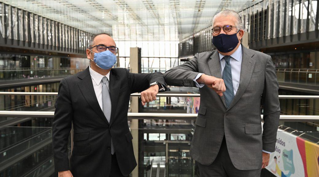 José Bogas, CEO de Endesa y Benito Berceruelo, Presidente del SID