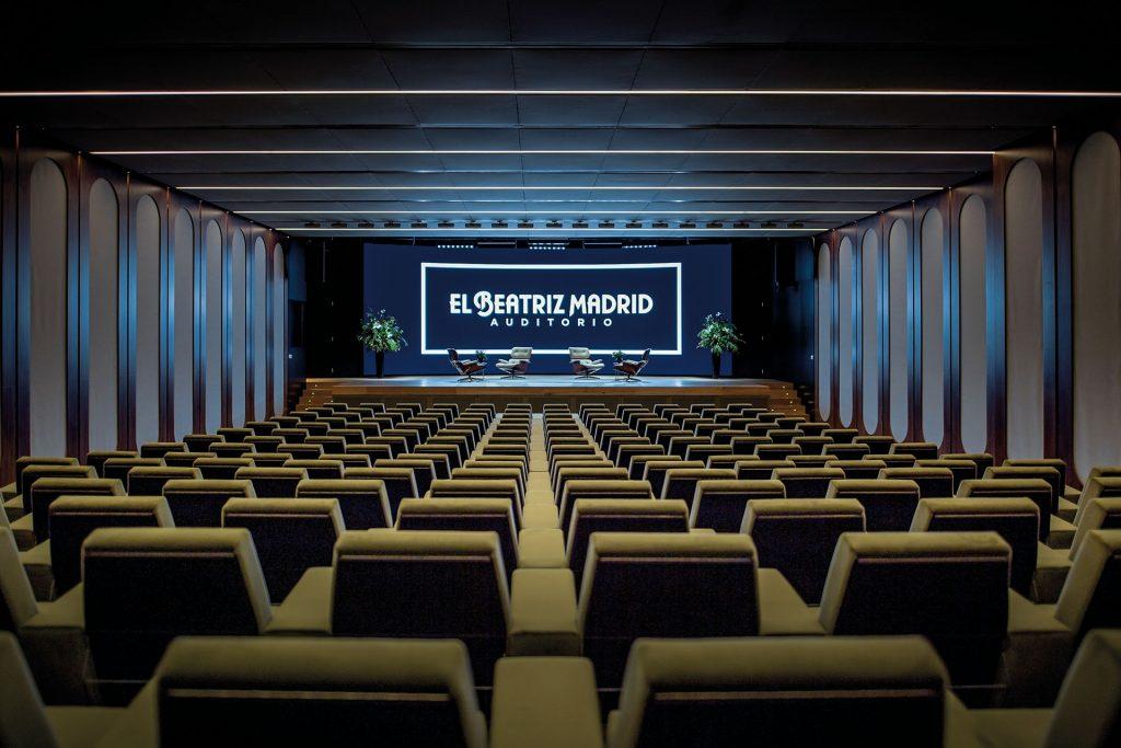 auditorio El Beatriz Madrid
